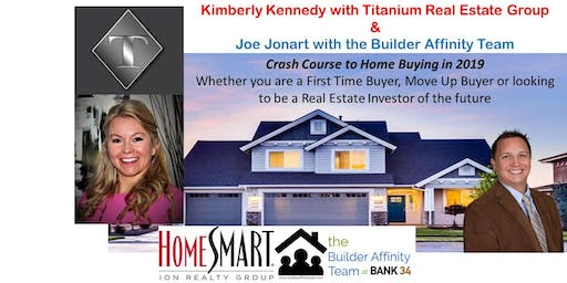 Home Buyer Class (home buying) w/ Kimberly Kennedy & Joe Jonart