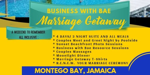 BUSINESS WITH BAE - MARRIAGE GETAWAY EXPERIENCE