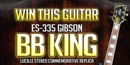 Win This BB King Guitar Fundraiser Drawing