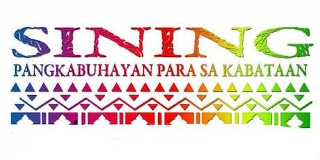 2019 Sining Pangkabuhayan Para Sa Kabataan tickets