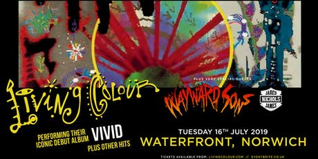 Living Colour (Waterfront, Norwich) tickets
