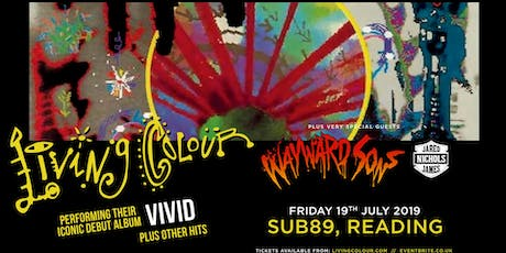 Living Colour (Sub89, Reading) tickets