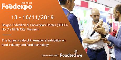 Vietnam Foodexpo & Foodtech 2019 tickets