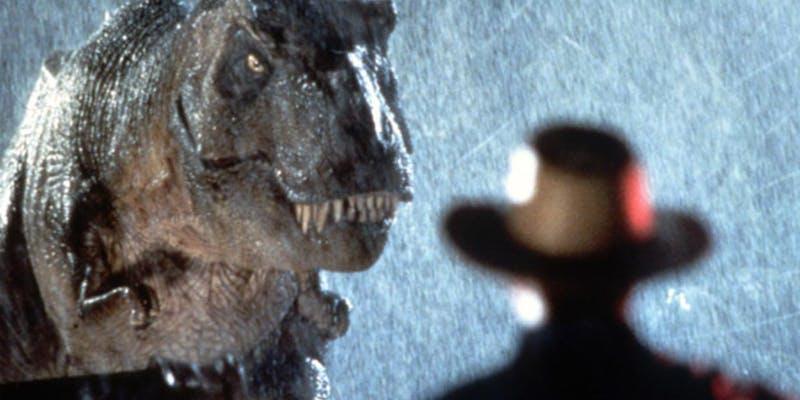 """Jurassic Park"" in 35mm"