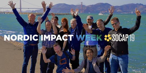 Nordic Impact Week with SOCAP19 in San Francisco and Silicon Valley