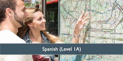 Spanish (Level 1A) - April 2019