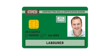 2 Week Introduction to Construction with 5 year CSCS (Green Card) - Moxley Campus tickets