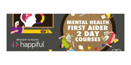 Mental Health First Aider (Adult) 2 Day Training tickets