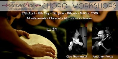 Choro workshops with Cléa Thomasset and Jonathan Preiss