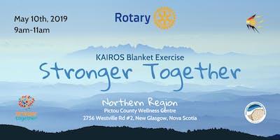 Stronger Together: KAIROS Blanket Exercise - New Glasgow