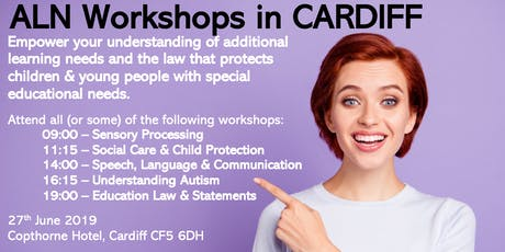 CARDIFF - ALN Workshops tickets