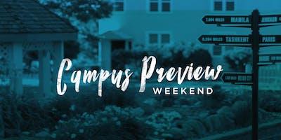 BGU Campus Preview Weekend Fall 2019