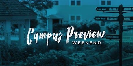 BGU Campus Preview Weekend Fall 2019 tickets