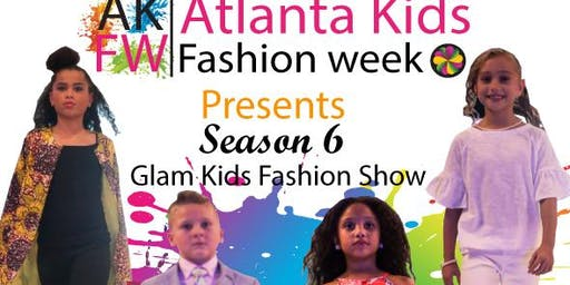 Atlanta Kids Fashion Week  Glam Fashion Show