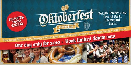 Oktoberfest Chelmsford 2019 tickets