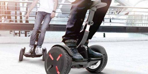 Segways and E-Transport Product Free Trail @bNEXT