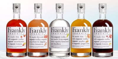 Frankly Organic Vodka Tasting Event