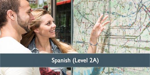 Spanish (Level 2A) - April 2019