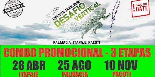 CIRCUITO DESAFIO VERTICAL TRAIL RUN 2019 - COMBO 3 ETAPAS
