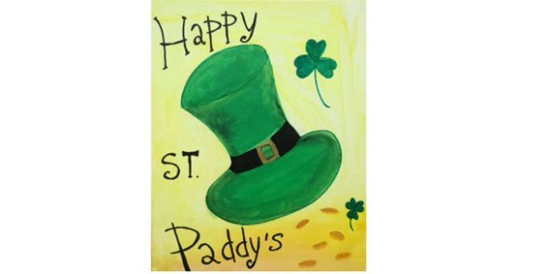 St Patrick's Day Paint and Sip