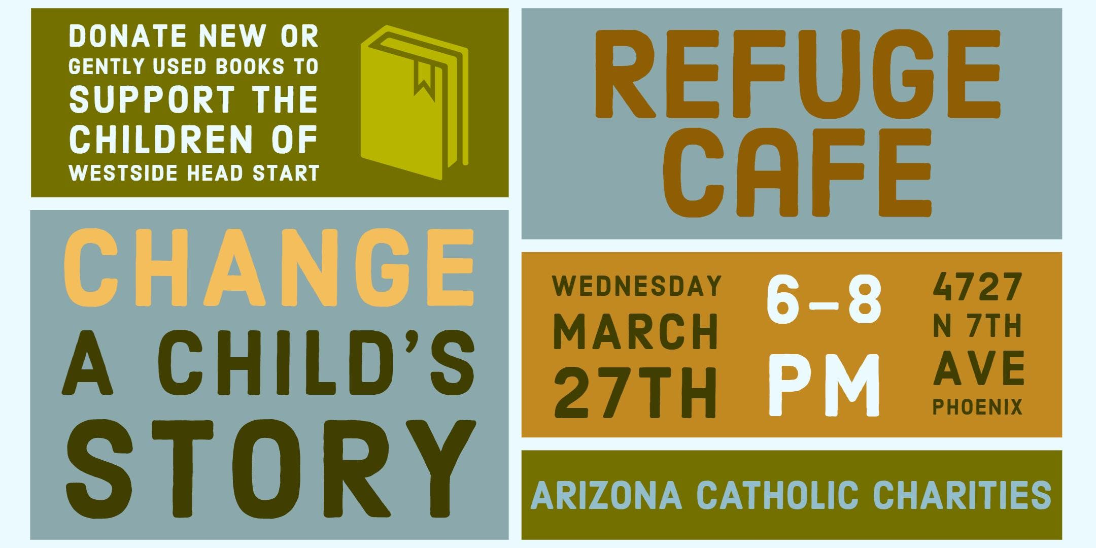 Change a Child's Story – Book Drive and Social Gathering