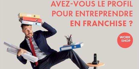 Réunion Entreprendre en franchise billets