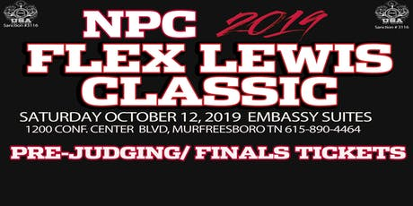 Tickets for NPC 2019 Flex Lewis Classic & IPA 2019 WORLDS FLC tickets