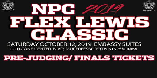 Tickets for NPC 2019 Flex Lewis Classic & IPA 2019 WORLDS FLC