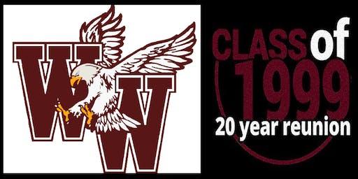 WWHS Reunion Class of 1999 - 20 Year Reunion