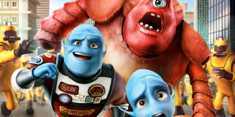 Kids Movie Club- Monsters vs Aliens tickets