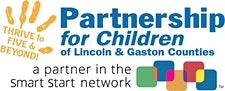 Partnership for Children of Lincoln & Gaston Counties logo