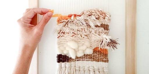 Weaving Workshop (Beginners) - Make a Wall Hanging on a Loom
