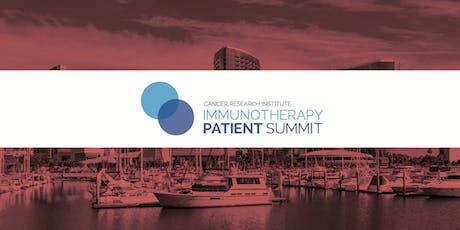 CRI Immunotherapy Patient Summit - San Diego tickets