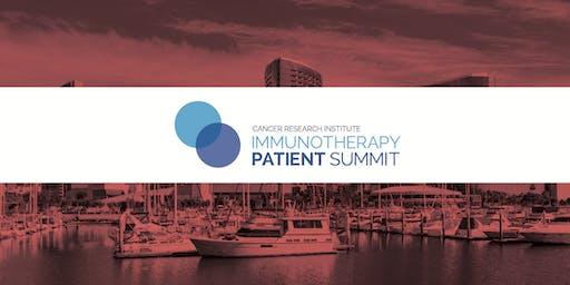 CRI Immunotherapy Patient Summit - San Diego