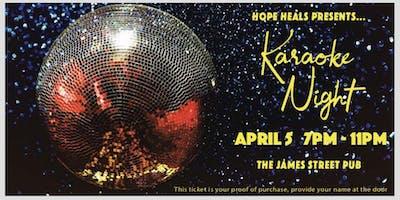 Hope Heals Karaoke Night