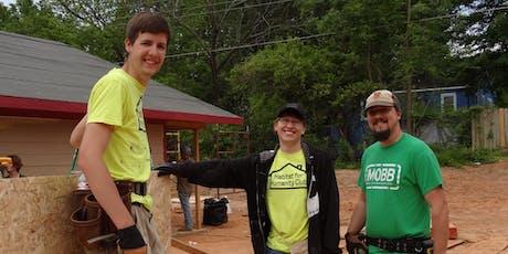619 Texas Street Volunteer Build Schedule tickets