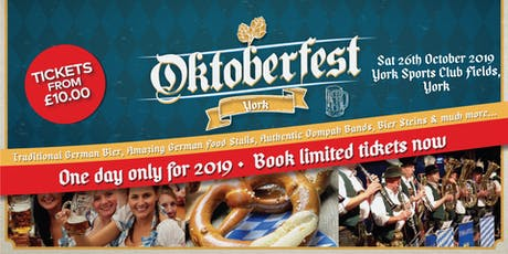 Oktoberfest York 2019 tickets
