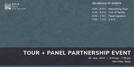 Tour + Panel tickets