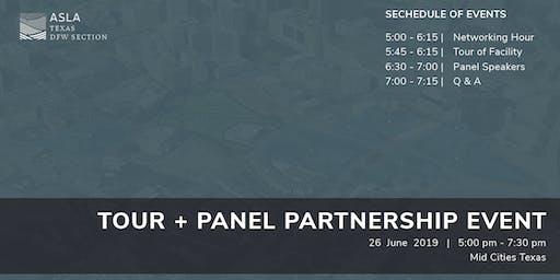 Tour + Panel