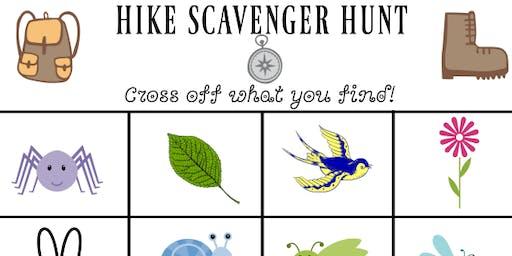 Scavenger Hunt Hike (for kids)