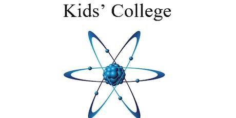 Kids' College 2019 tickets