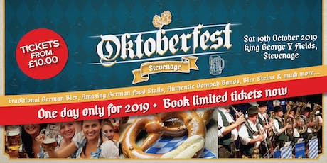 Oktoberfest Stevenage 2019 tickets