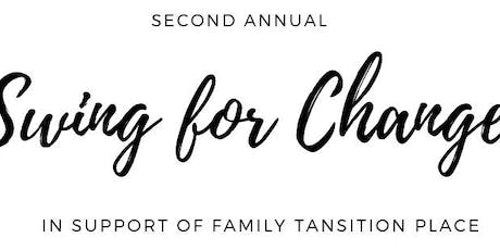 Swing for Change Charity Golf Tournament tickets
