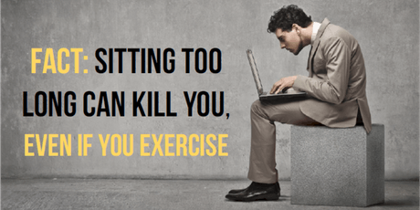 Sitting is the New Smoking and 5 Keys to be Fit While You Sit tickets