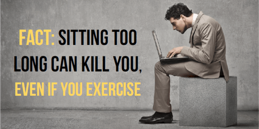 Sitting is the New Smoking and 5 Keys to be Fit While You Sit