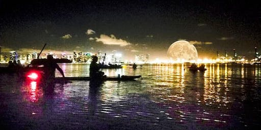 Miami Full Moon Paddleboard & Kayak Tour