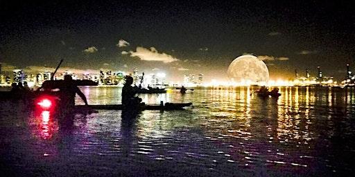 Miami Full Moon Paddleboard & Kayak Tour