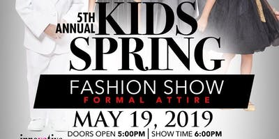 5th Annual Kids' Spring Fashion Show 2019 (VIP Experience)