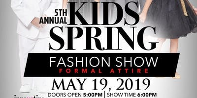 5th Annual Kids' Spring Fashion Show 2019 (General Admission)