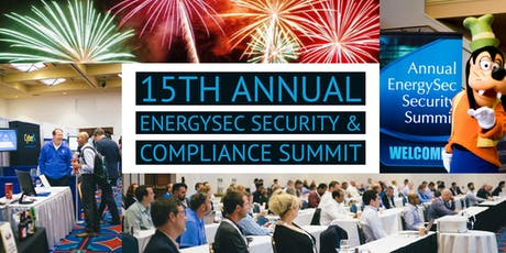 EnergySec 15th Annual Security & Compliance Summit tickets